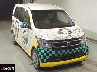 HONDA N WGN G A PACKAGE  с аукциона в Японии